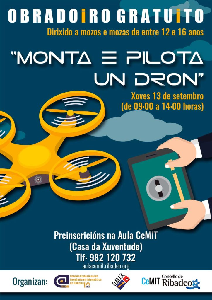 Drones CeMIT Ribadeo
